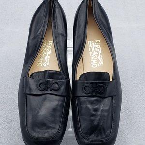 Salvatore Ferragamo Womens Flat oxford Shoes 23532